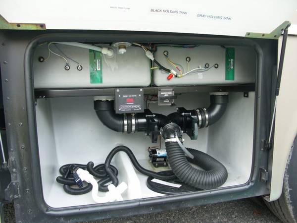 Motorhome Sanitation Service - Disinfect Fresh Water